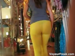super-tight-yellow-pants-show-tight-ass-part3