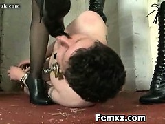 Cruel Domme With Kinky Girl