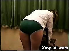 pervert-chick-entertaining-spanking
