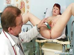 mature-olga-has-her-redhead-hairy-pussy-gyno-speculum-examined-by-gyno-doctor