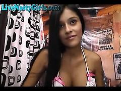 Cute Latina Hot Webcam Session 5