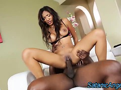 Asian Slut Ass Fucked By Black Cock