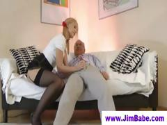 blonde-in-mini-skirt-and-old-man
