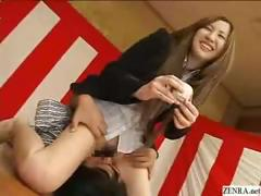 bottomless-no-panties-japanese-employees-play-sex-games