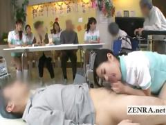 bottomless-japanese-nurse-sixtynine-blowjob-in-public