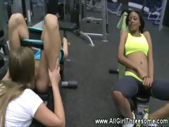 lesbos-please-their-pussies-at-the-gym