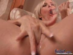 this-blonde-used-a-dildo
