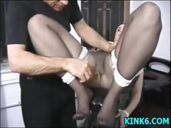 sexy-babe-tits-punished