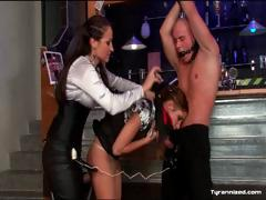 mistress-dominates-submissive-couple