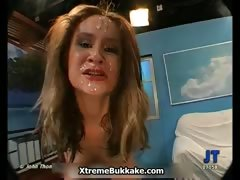 Dirty blonde jizzed sluts get horny part3