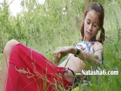 Danish Natashas Back To Nature
