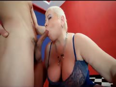 Chubby MILF slut doctor Lucia blows part4