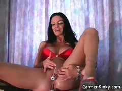 Kinky Carmen is solo this time and she part2