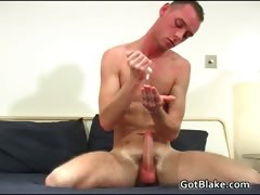 Gifted Gay Hunk Alex Z Wanking His Stiff Part3
