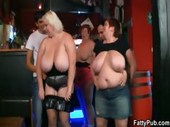 three-fat-chicks-have-fun-in-the-bar